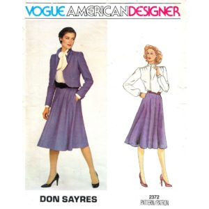 Vogue 2372 womens sewing pattern