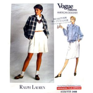 Vogue 2456 womens sewing pattern
