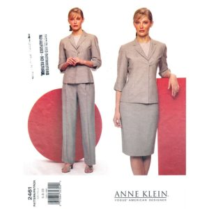 Vogue 2461 womens suit pattern
