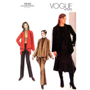 Vogue 7640 womens pattern