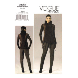 Vogue 8757 jacket pants pattern