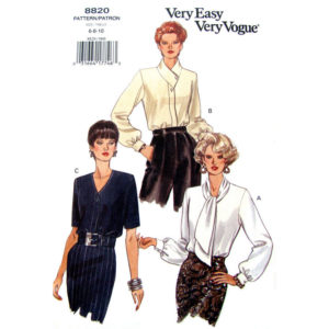 Vogue 8820 blouse pattern