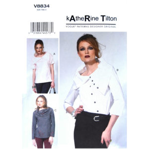 Vogue 8834 womens top pattern