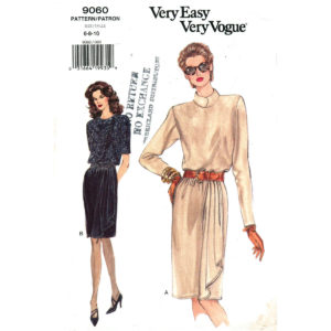 Vogue 9060 dress pattern