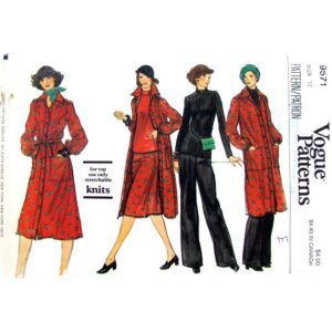Vogue 9571 sewing pattern