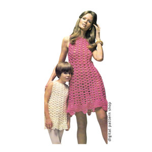 mommy and me dress crochet pattern