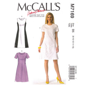 McCalls 7169 womens dress pattern