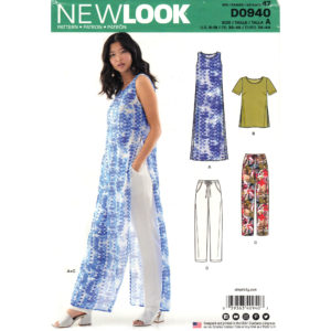 New Look 0940 6566 womens sewing pattern
