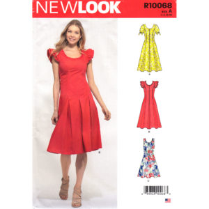 New Look 10068 6593 dress pattern