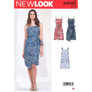 New Look 10085: 6614 dress pattern