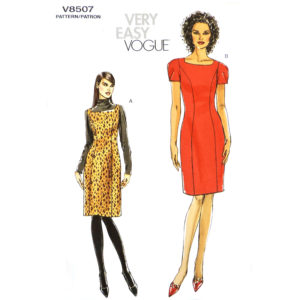 Vogue 8507 dress pattern