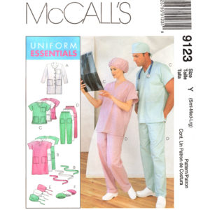 McCalls 9123 uniform pattern