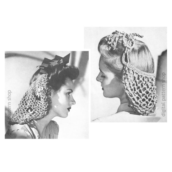 snoods crochet patterns