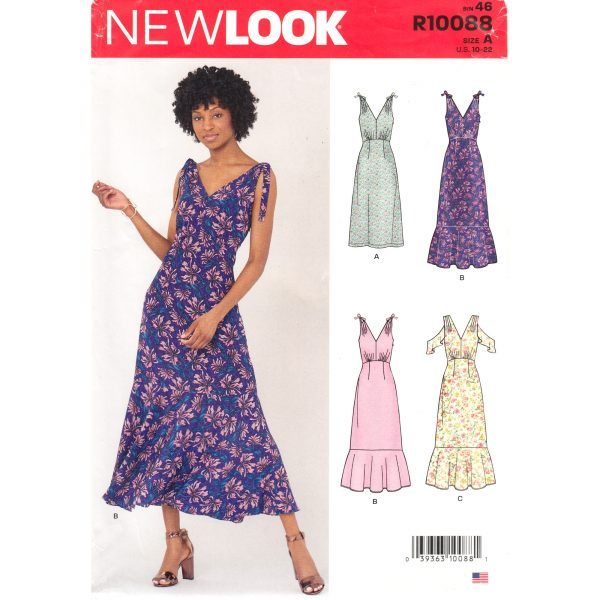 New Look 10088 dress pattern