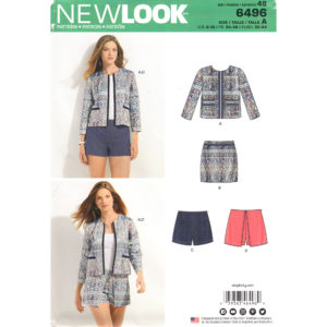 New Look 6496 womens sewing pattern