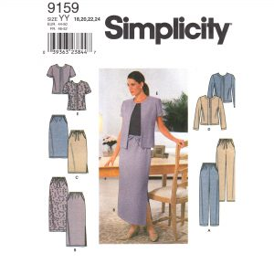 Simplicity 9159 womens sewing pattern
