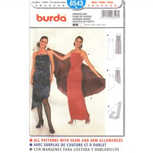 Burda 8543 dress sewing pattern