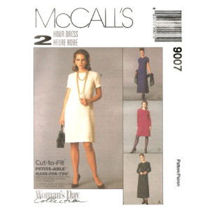 McCalls 9007 dress pattern