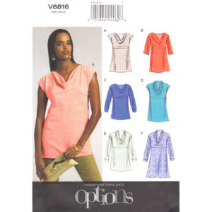 Vogue 8816 womens top pattern