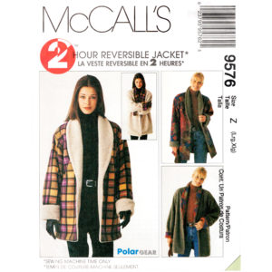 McCalls 9576 jacket pattern