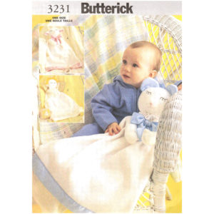 Butterick 3231 baby blanket pattern