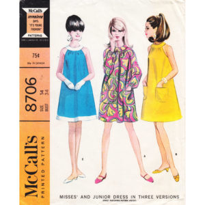 McCalls 8706 dress pattern