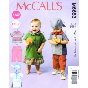 McCalls 6683 kids pattern