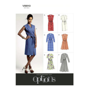 Vogue 8810 dress pattern