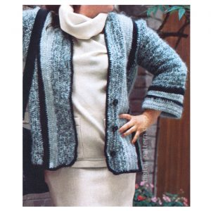 jacket crochet pattern
