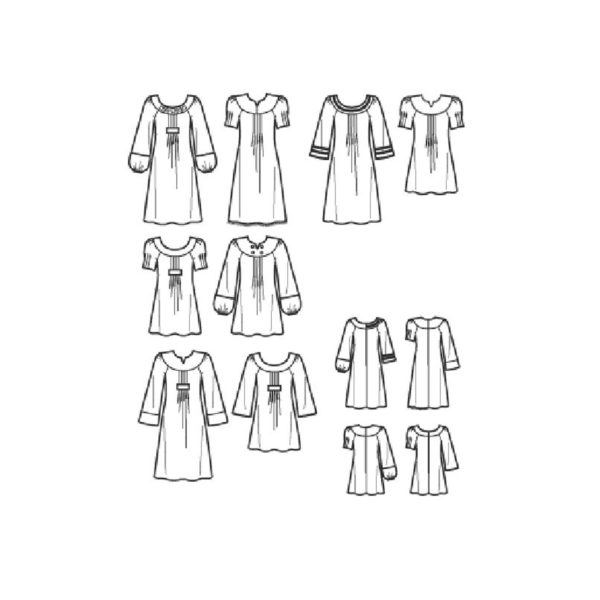 S3530 top or dress pattern