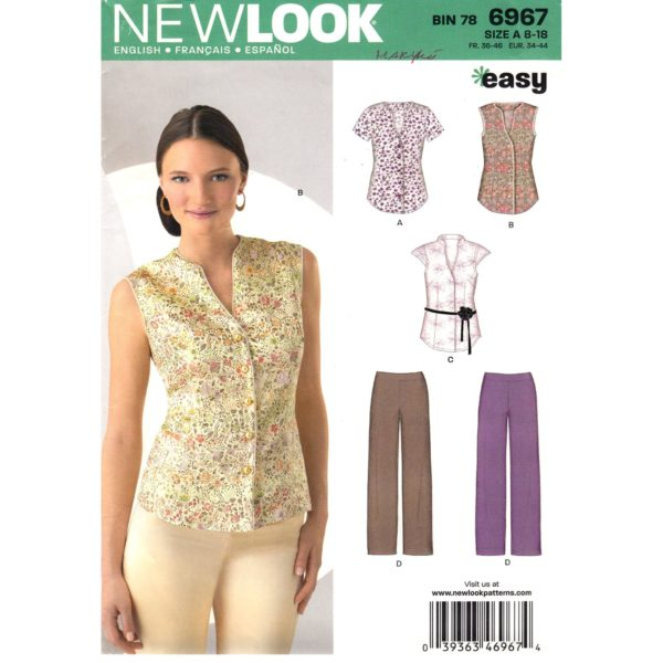 New Look 6967 sewing pattern
